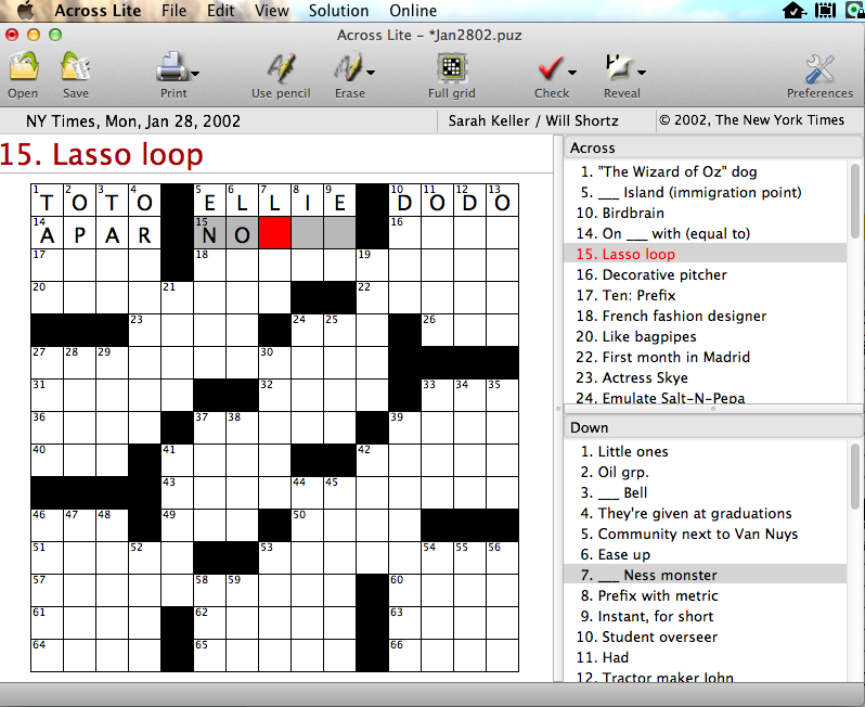 Crosswords puzzle sources answering ccuart Images