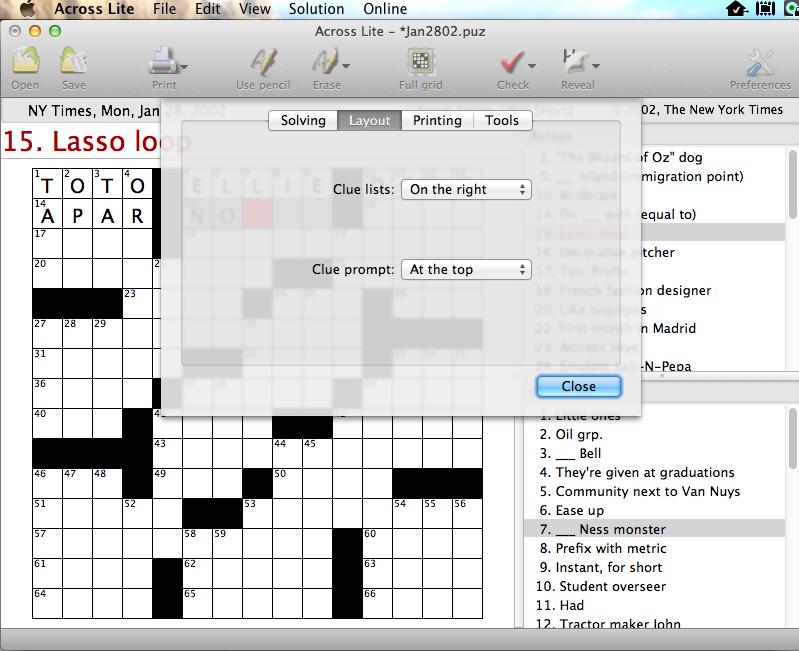 Crosswords puzzle sources ccuart Gallery