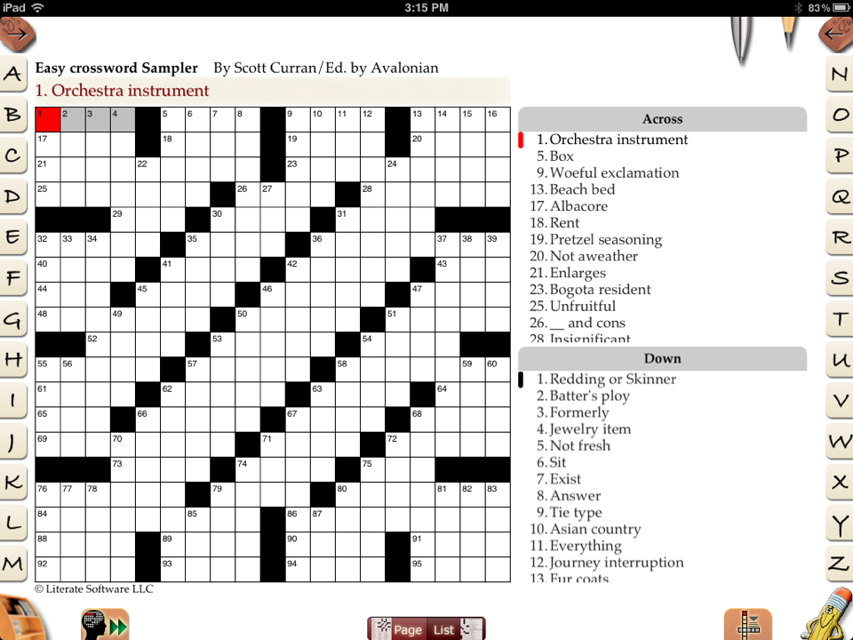 CROSSWORDS Puzzle Sources