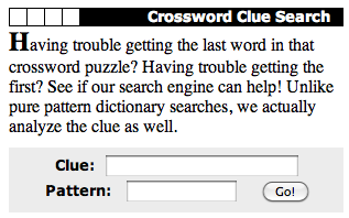 CROSSWORDS: Solving Strategies and Resources