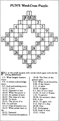 wynne crossword