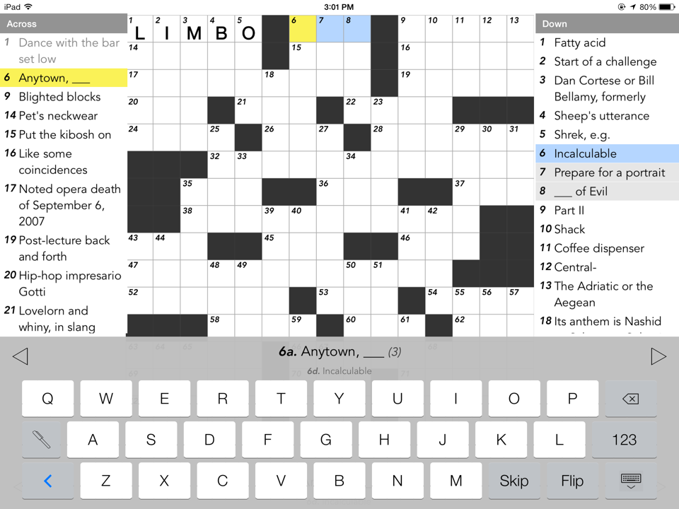 Crosswords Sources Applications Communicrossings